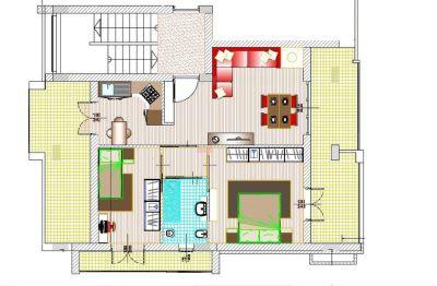 planimetria Appartamento Vendita Spoleto