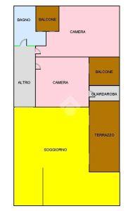 planimetria Appartamento Vendita Teramo