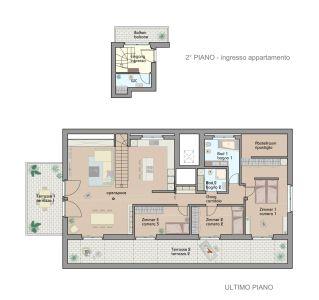 planimetria Appartamento Vendita Terlano