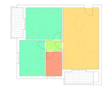 planimetria Appartamento Vendita Toano