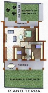 planimetria Appartamento Vendita Torre de' Roveri