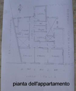 planimetria Appartamento Vendita Trapani