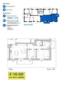 planimetria Appartamento Vendita Trescore Balneario