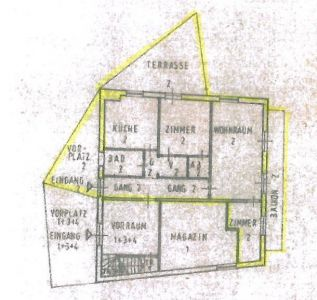 planimetria Appartamento Vendita Tubre