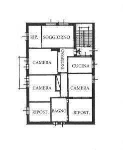 planimetria Appartamento Vendita Valdieri
