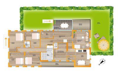 planimetria Appartamento Vendita Valle Aurina