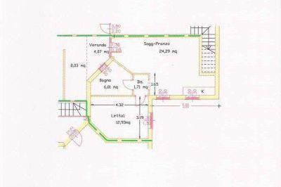 planimetria Appartamento Vendita Valledoria