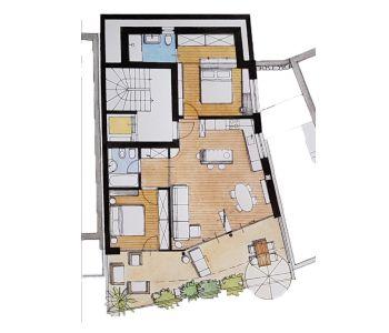 planimetria Appartamento Vendita Vandoies