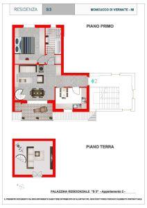 planimetria Appartamento Vendita Vernate