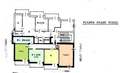 planimetria Appartamento Vendita Verzuolo