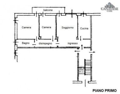 planimetria Appartamento Vendita Vico Canavese