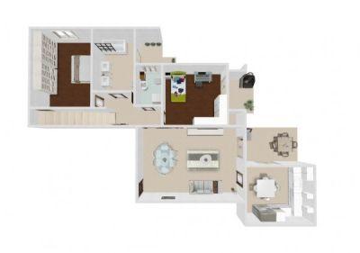foto 2D Appartamento nuovo, terzo piano, Vigliano Biellese
