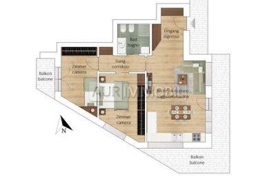 planimetria Appartamento Vendita Villabassa