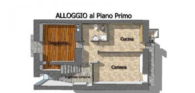 planimetria Appartamento Vendita Villar Pellice