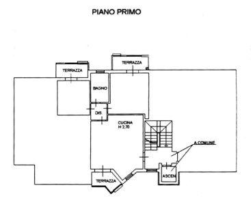 planimetria Appartamento Vendita Vinci
