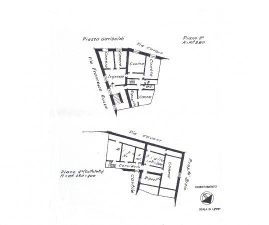 foto  Appartamento da ristrutturare, terzo piano, Voltaggio
