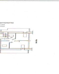 planimetria Attico / Mansarda Vendita Agropoli