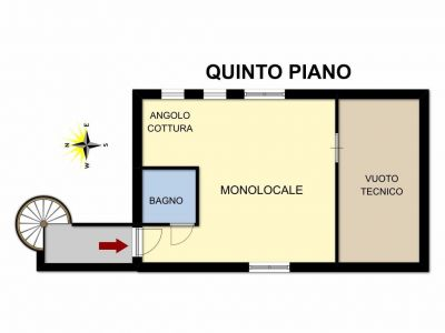 planimetria Attico / Mansarda Vendita Ayas