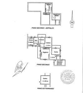 planimetria Attico / Mansarda Vendita Courmayeur