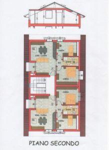 planimetria Attico / Mansarda Vendita Montorfano