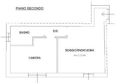 planimetria Attico / Mansarda Vendita Pegognaga