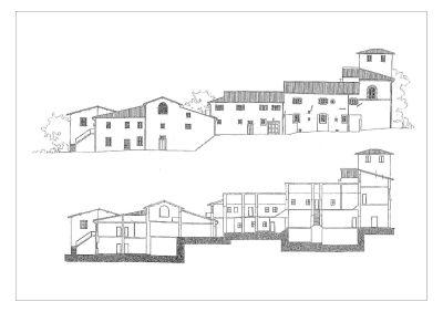 foto elevazioni Agriturismo in Vendita a Rignano sull'Arno