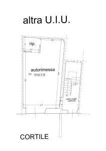 planimetria Box / Garage Affitto Racconigi