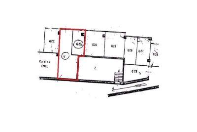 planimetria Box / Garage Vendita Cuorgnè