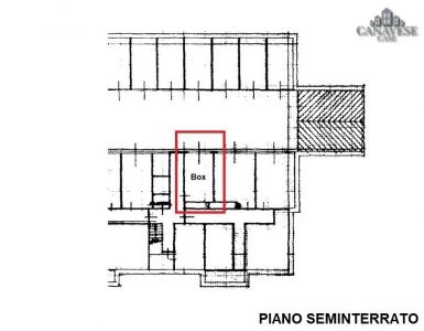 planimetria Box / Garage Vendita Favria