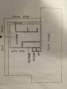 planimetria Box / Garage Vendita Locana