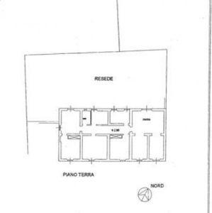 planimetria Casa indipendente Affitto Vaglia