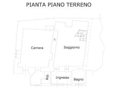 planimetria Casa indipendente Vendita Almese