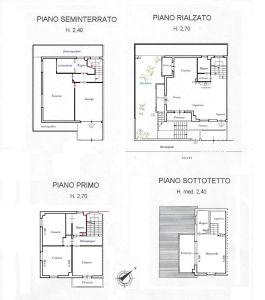 planimetria Casa indipendente Vendita Arezzo