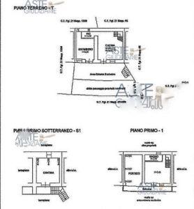 planimetria Casa indipendente Vendita Bagnolo Piemonte
