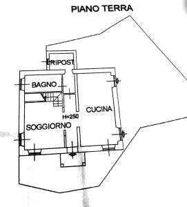 planimetria Casa indipendente Vendita Beura-Cardezza