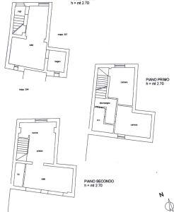 planimetria Casa indipendente Vendita Bosa