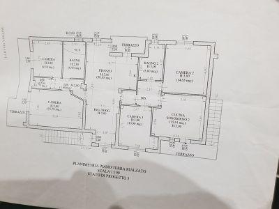 planimetria Casa indipendente Vendita Campi Bisenzio