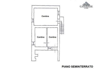 planimetria Casa indipendente Vendita Canischio