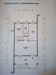 planimetria Casa indipendente Vendita Carpineti