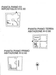 planimetria Casa indipendente Vendita Castellaro