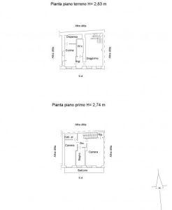 planimetria Casa indipendente Vendita Cavagnolo