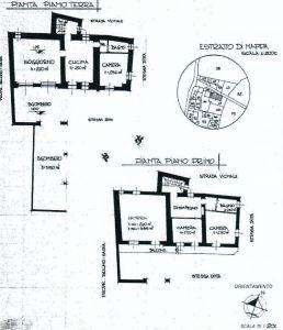 planimetria Casa indipendente Vendita Centallo