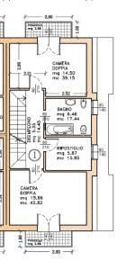 planimetria Casa indipendente Vendita Curtarolo