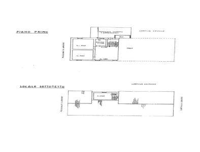 planimetria Casa indipendente Vendita Dicomano