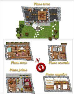 planimetria Casa indipendente Vendita Etroubles