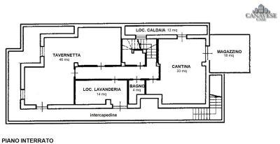 planimetria Casa indipendente Vendita Favria