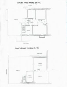 planimetria Casa indipendente Vendita Guarene
