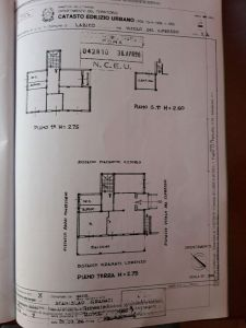 planimetria Casa indipendente Vendita Labico