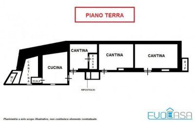 planimetria Casa indipendente Vendita Massello