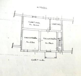 planimetria Casa indipendente Vendita Montaldo Roero